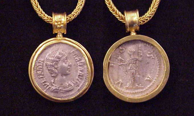 Ancient Jewelry Reproductions - Handcrafted by Iris Nevins